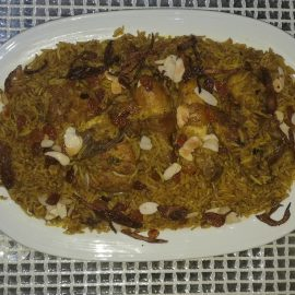 Machboos Ala-Dajaj or Bahraini Spioced Rice - mymotherskitchens