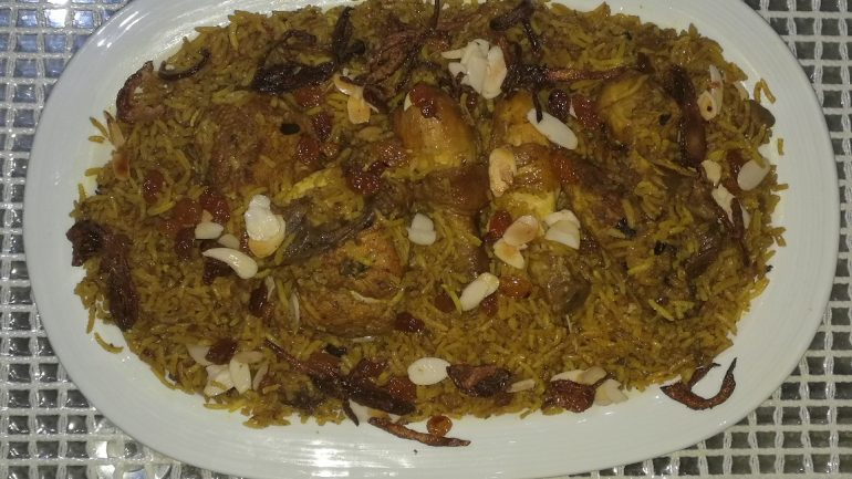 Bahraini Spiced Rice, mymotherskitchens.com