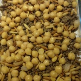 Fatteh with Garbazo Beans