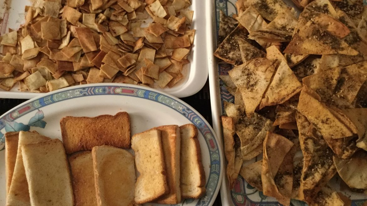 Recycled left-over breads